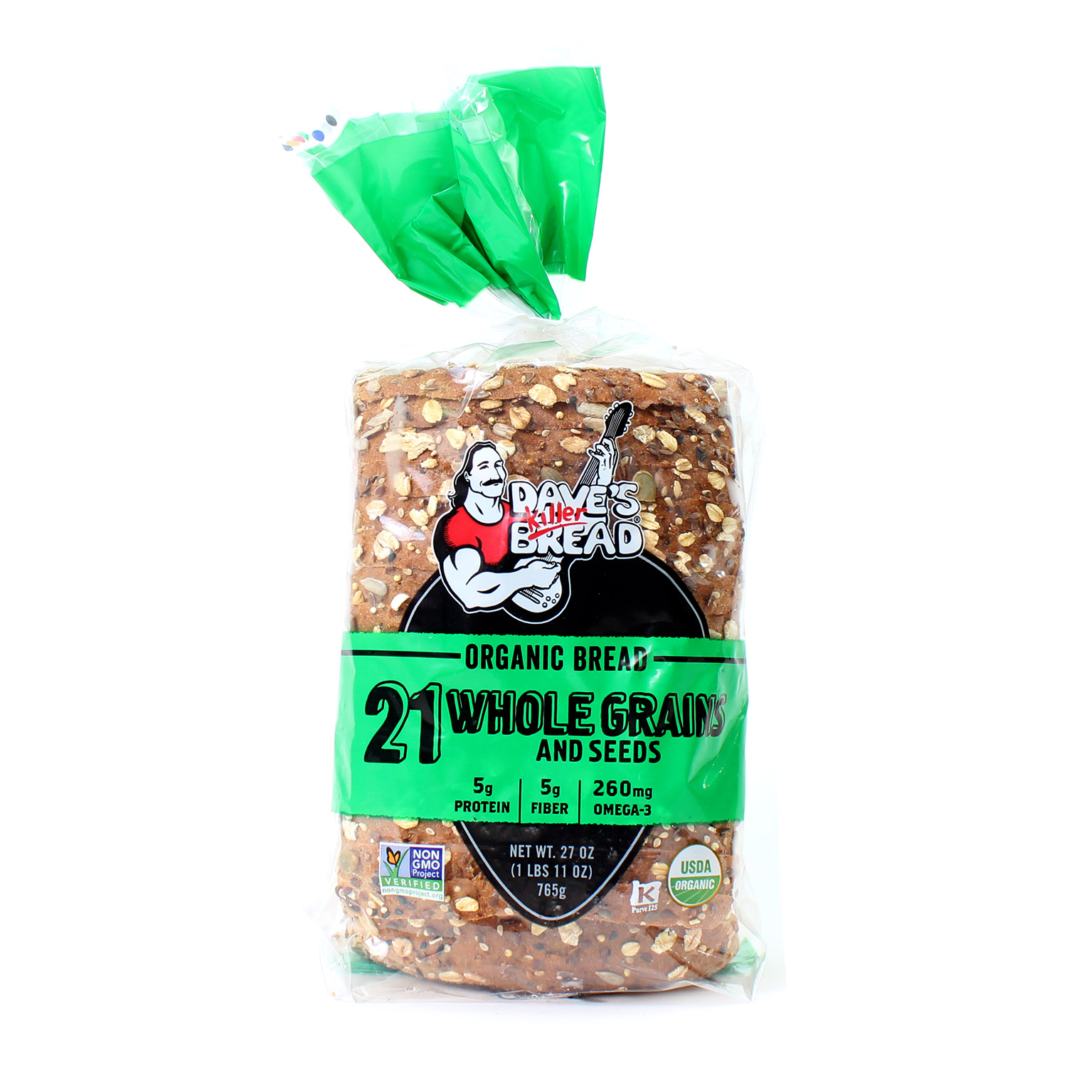 Bread, Whole Grains-Organic