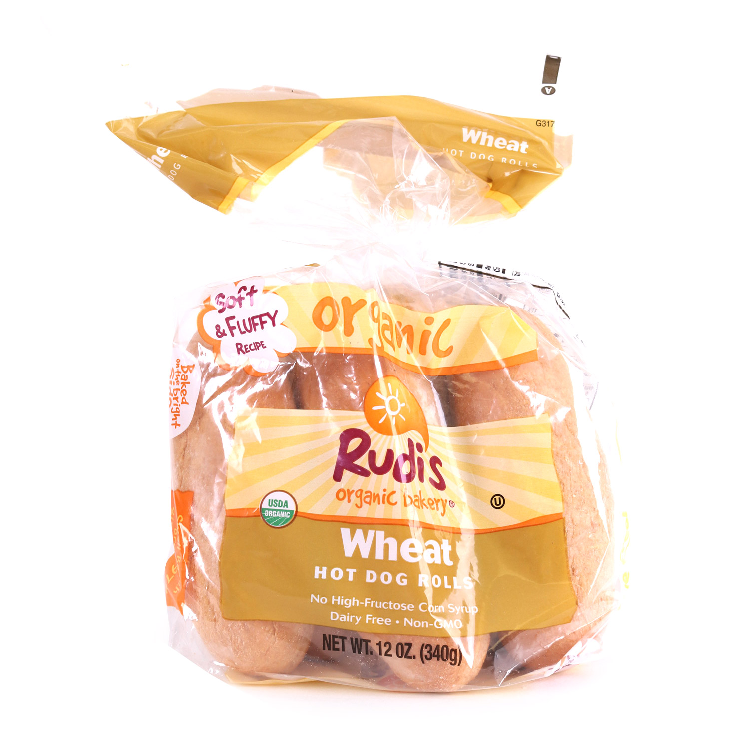Buns, Wheat Hot Dog-Organic