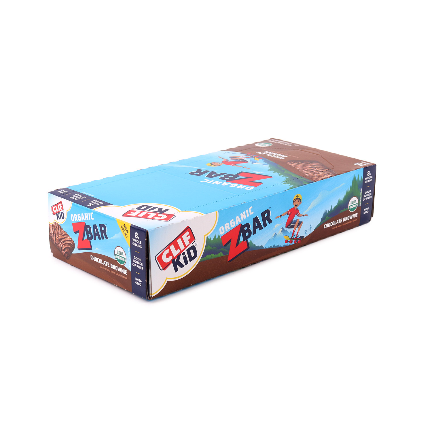 Kid ZBaR Chocolate Brownie-Organic (Case)