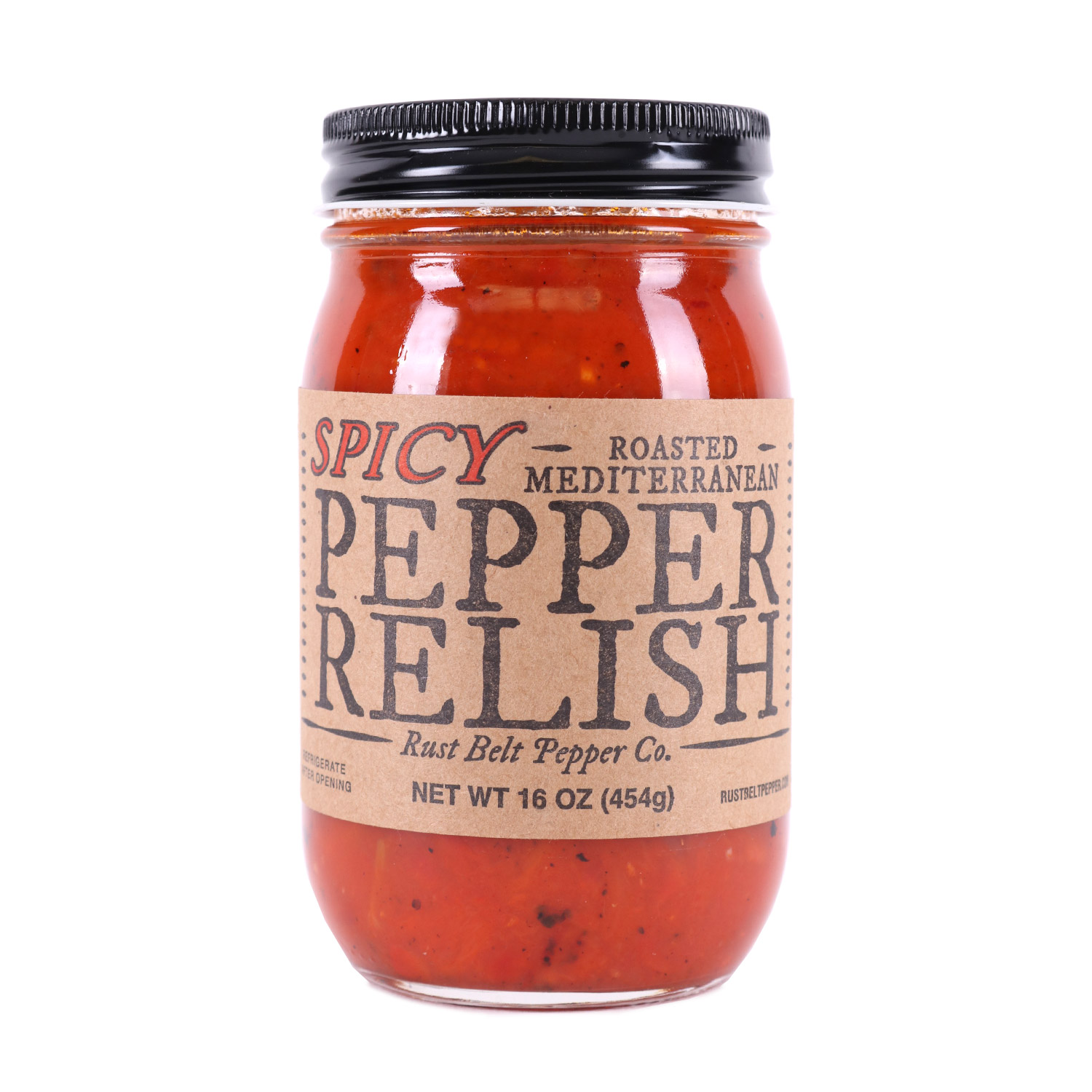 Spicy Roasted Mediterranean Pepper Relish