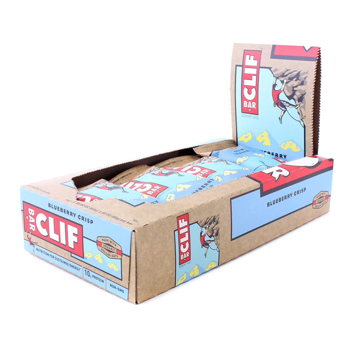 Clif Bar, Blueberry Crisp (Case)