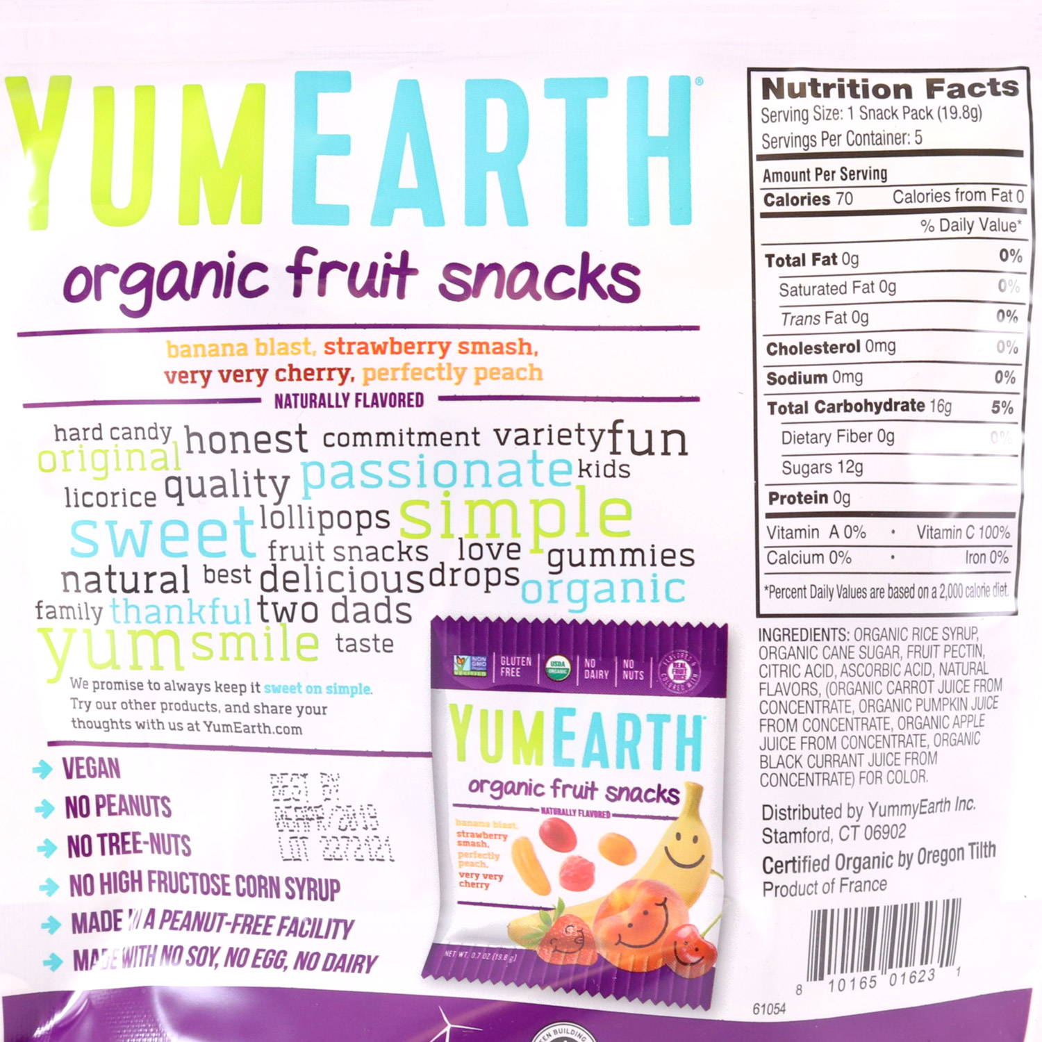 Fruity Snacks-Organic