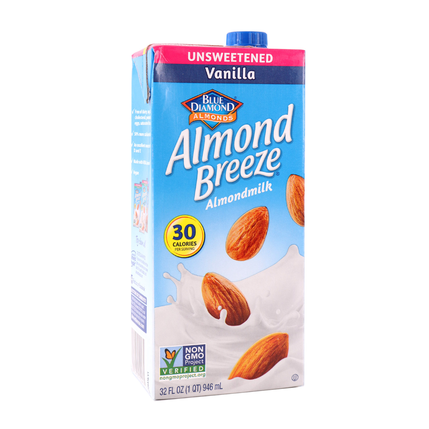 Almond Milk, Vanilla Unsweetened