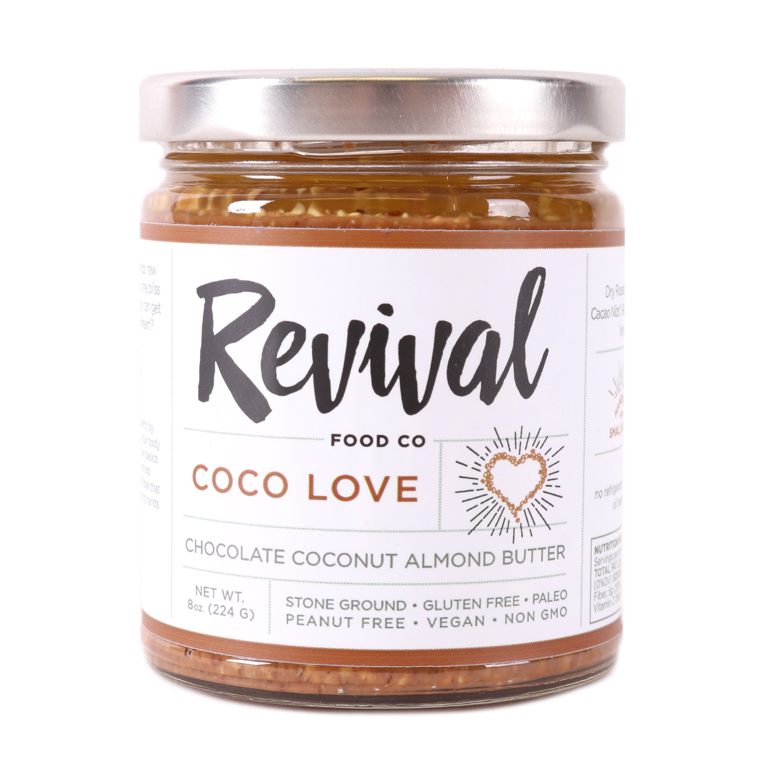 Almond Butter, Coco Love