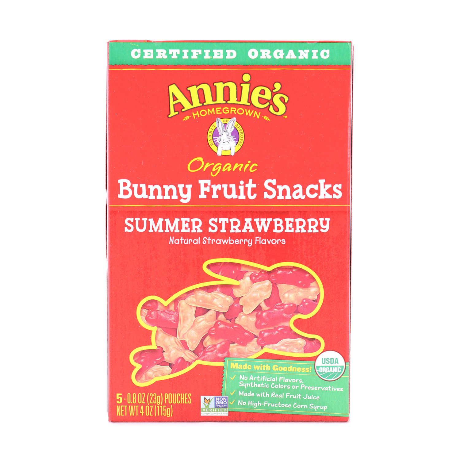 Fruit Snacks, Summer Strawberry-Organic
