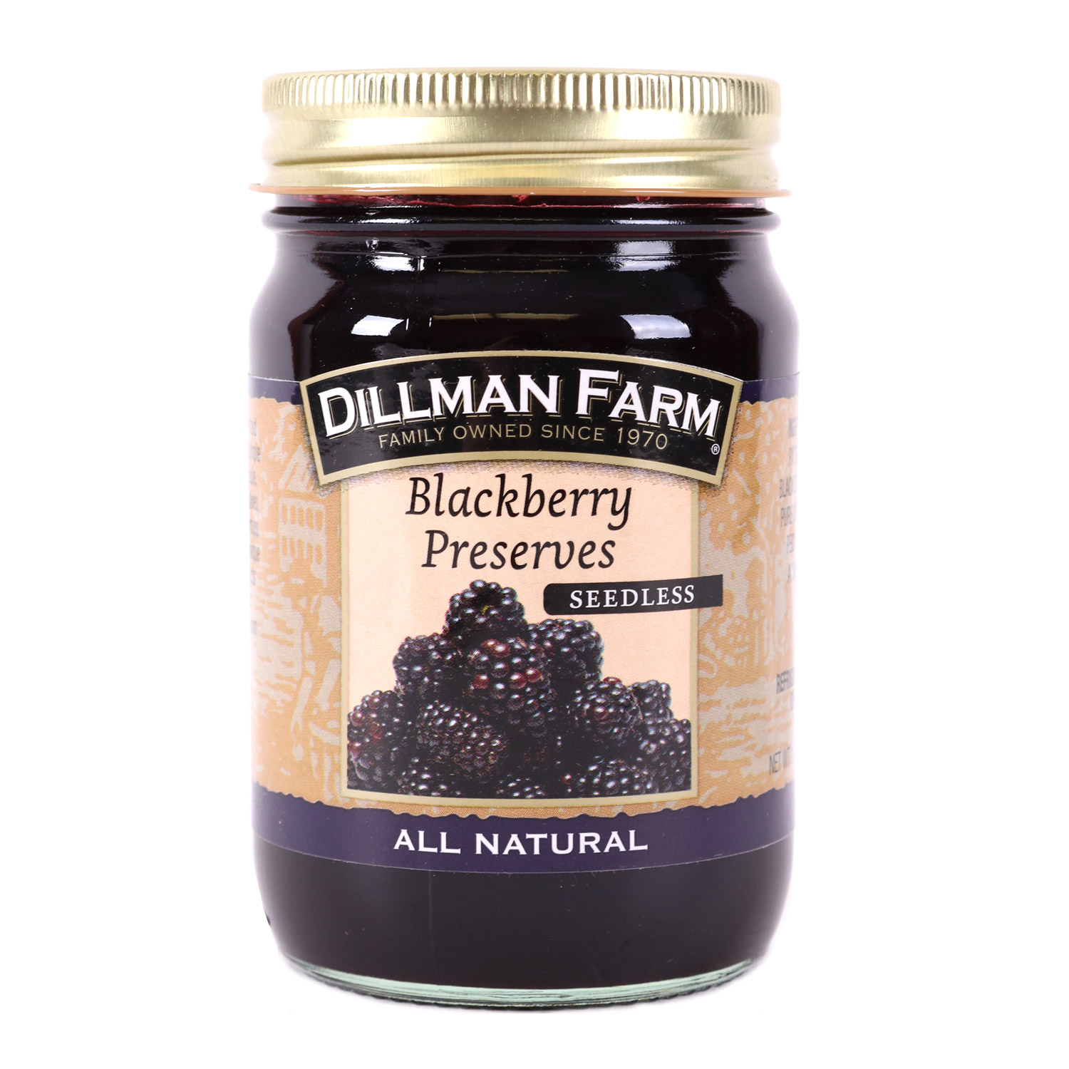 Preserves, Seedless Blackberry