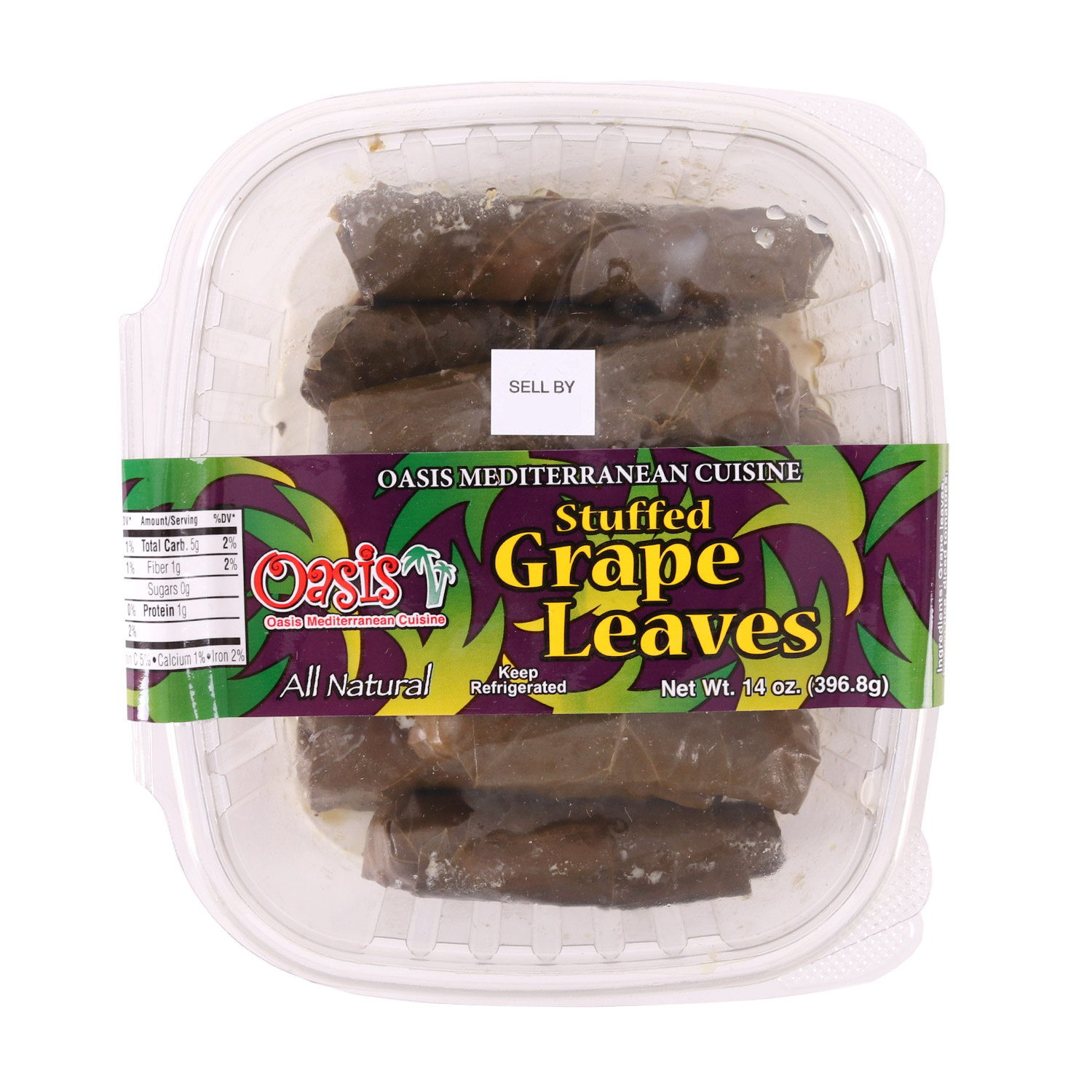 Mediterranean Cuisine, Stuffed Grape Leaves