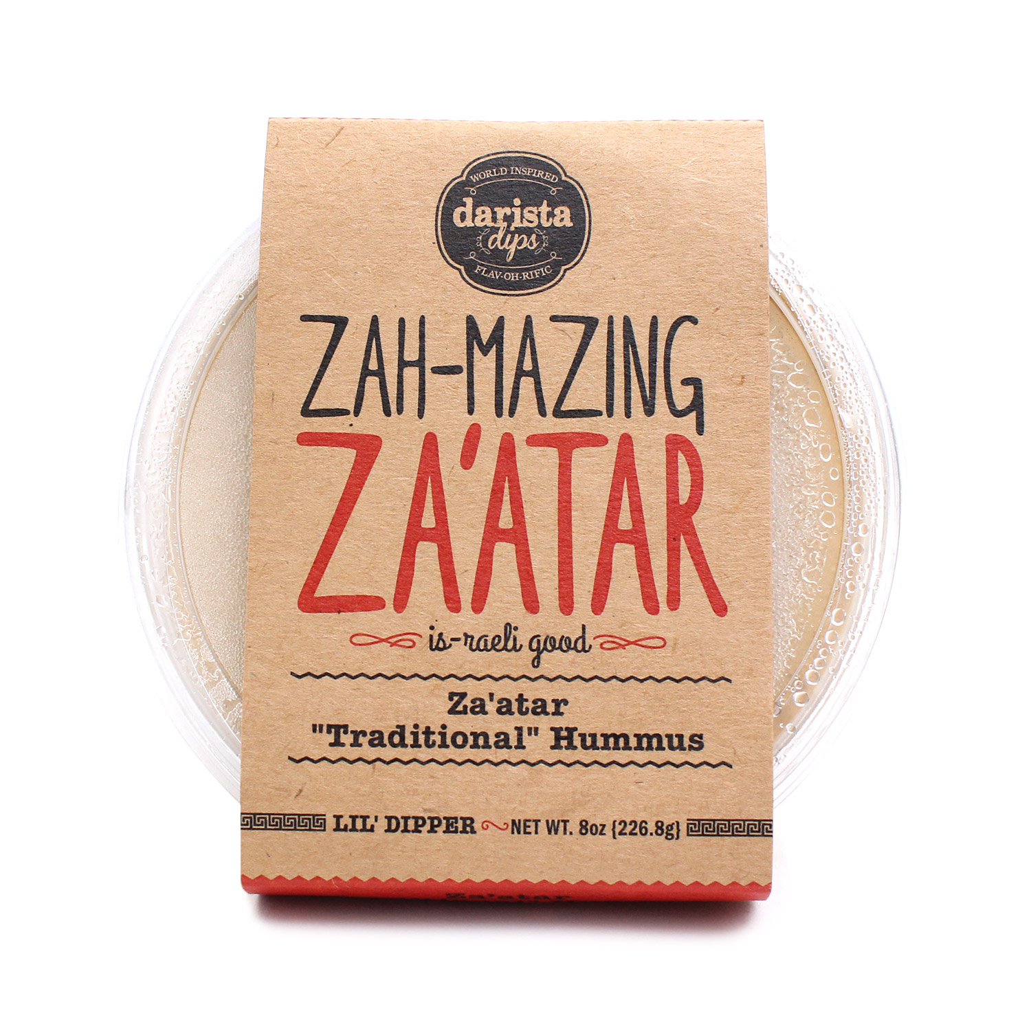 Hummus, Za'atar Traditional