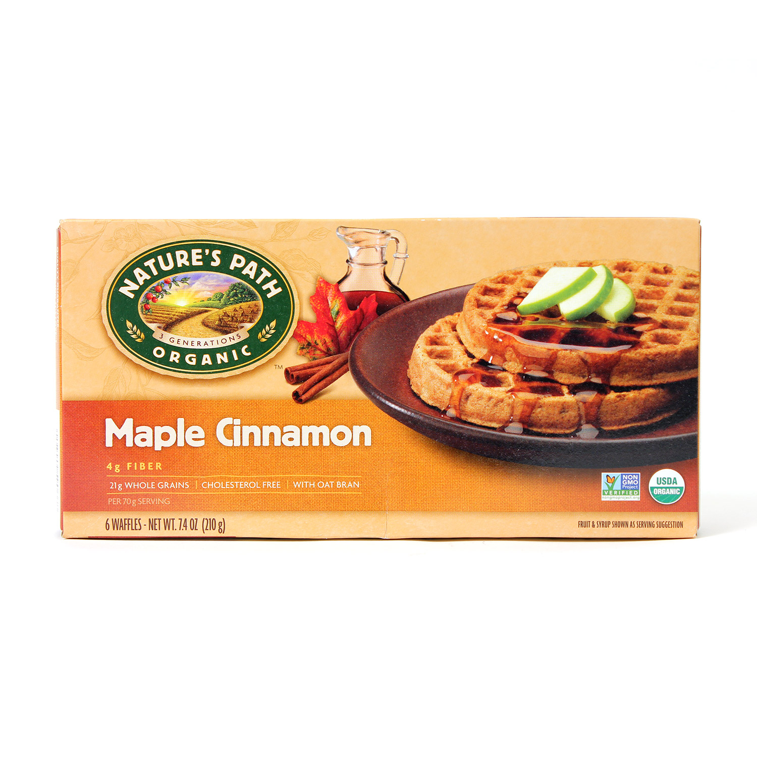 Waffles, Maple Cinnamon-Organic