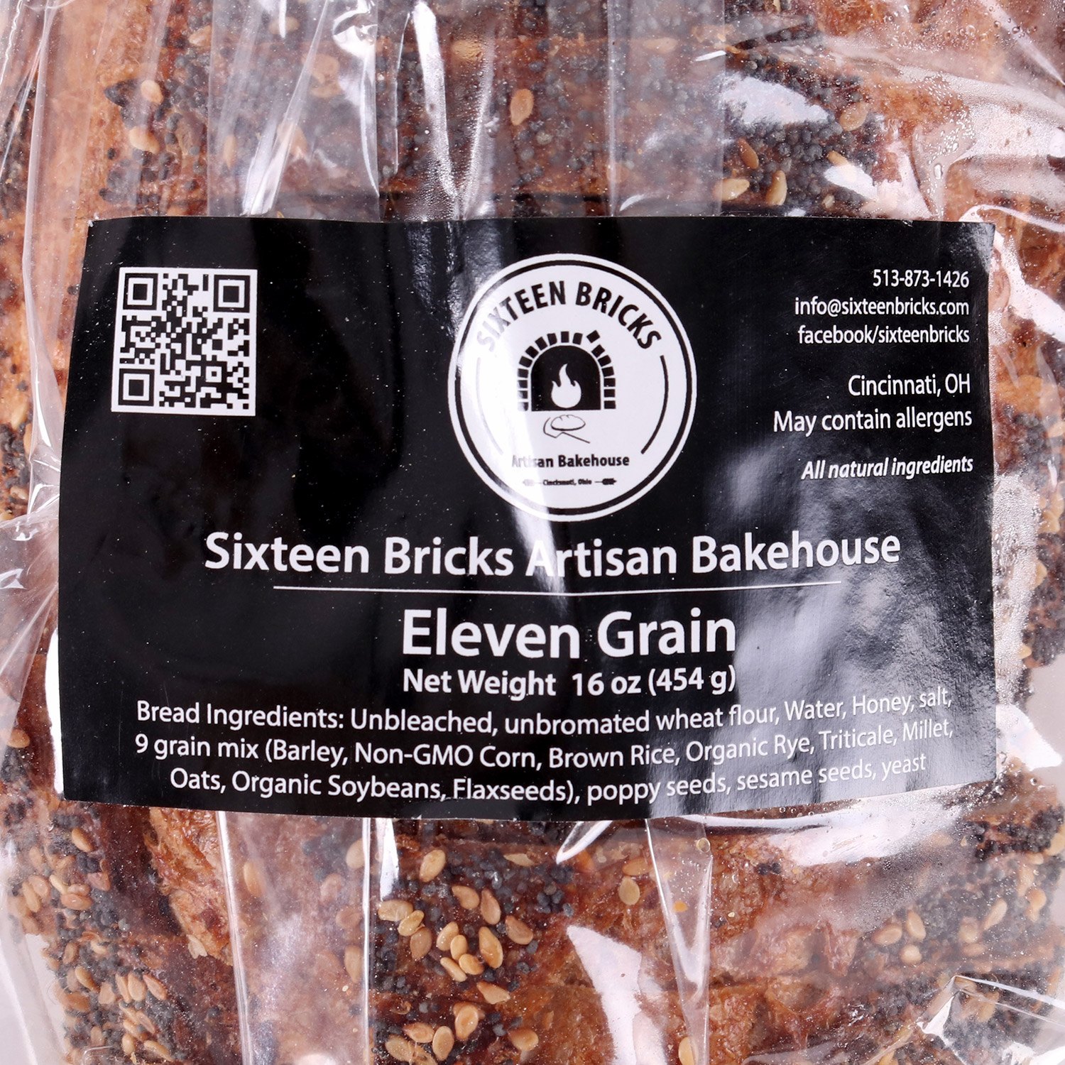 Eleven Grain-Sliced