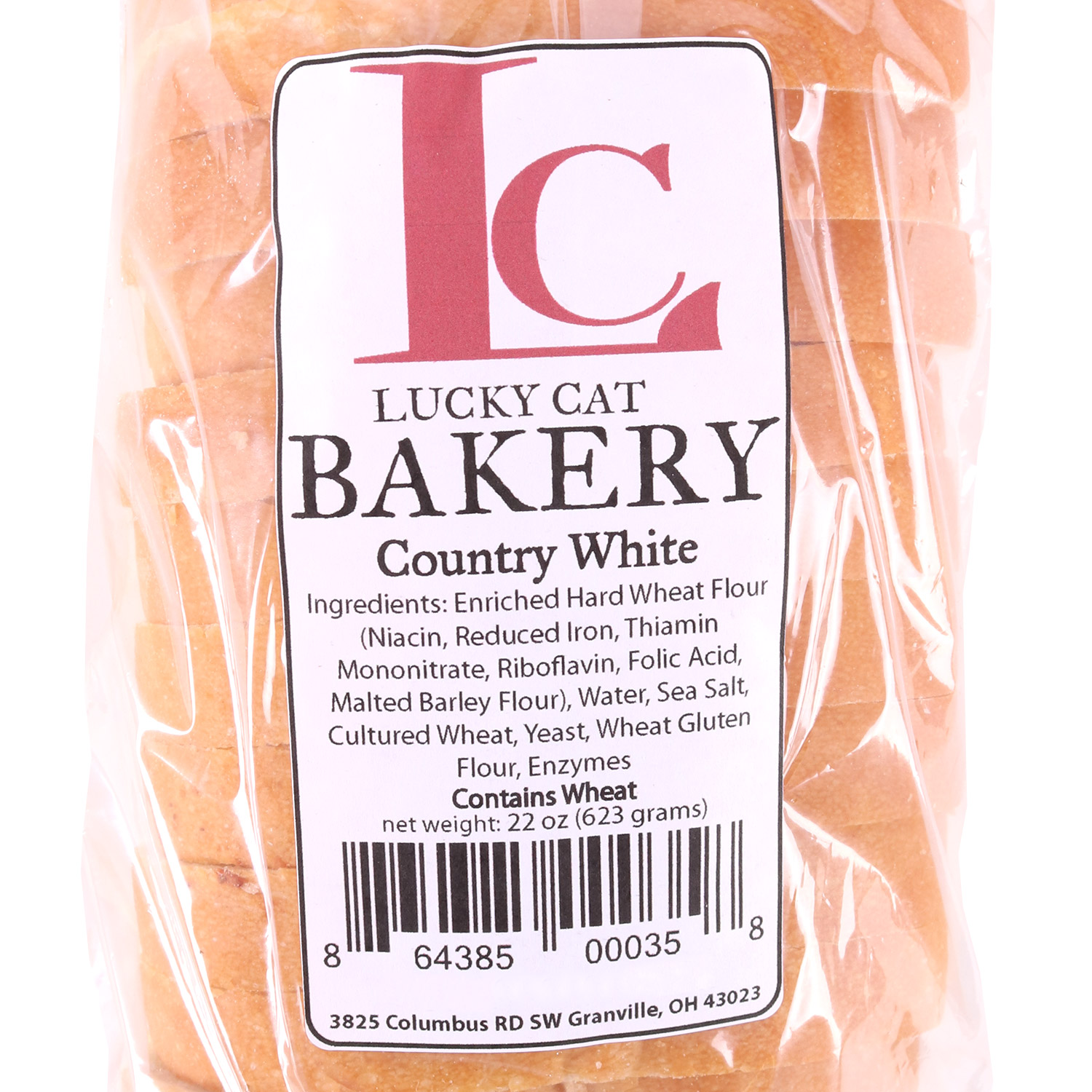 Sliced Bread, Country White