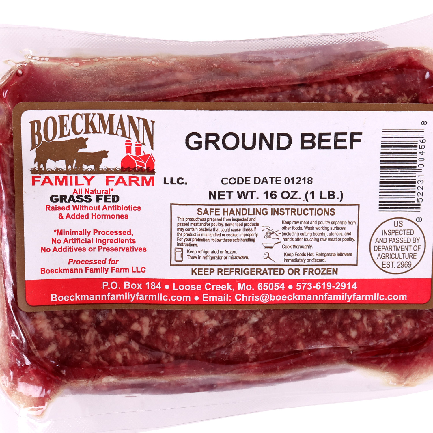 Beef, Ground Grassfed