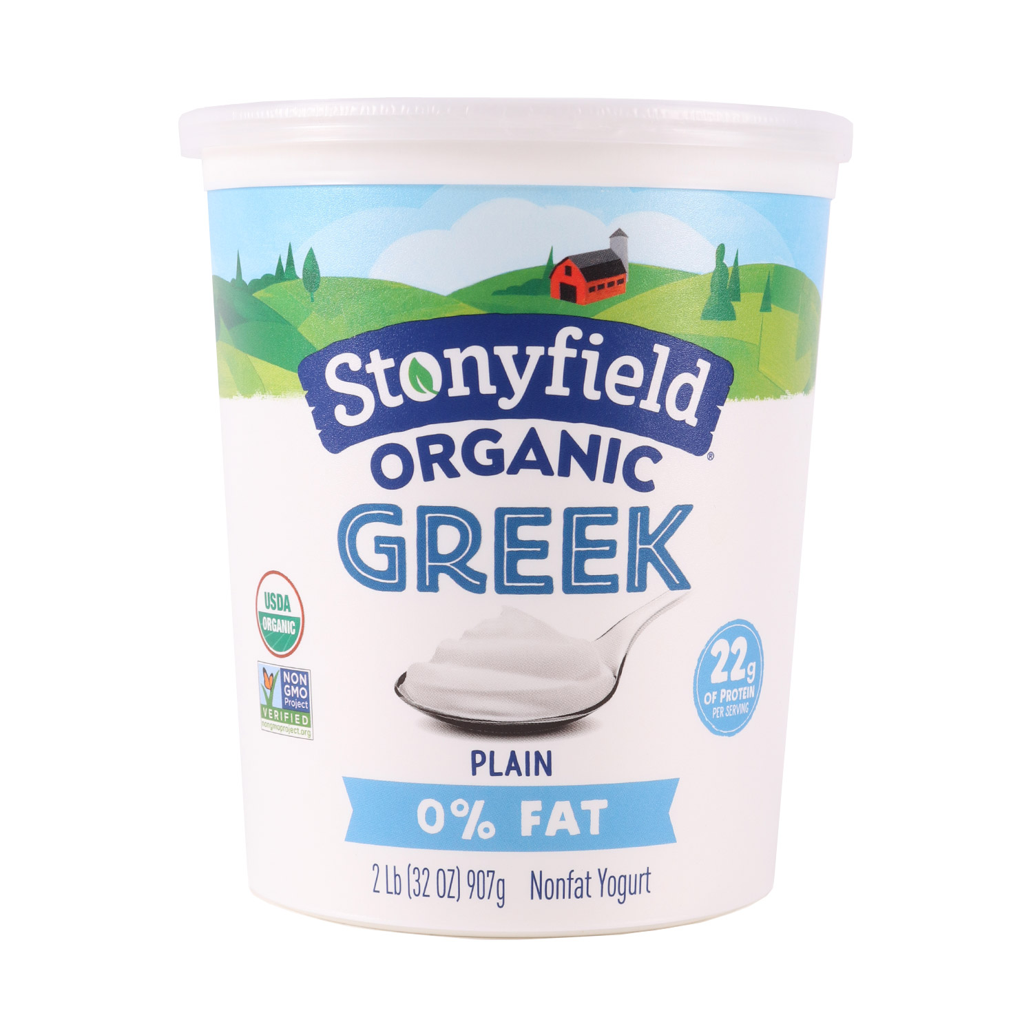 Yogurt, Greek Plain-Organic