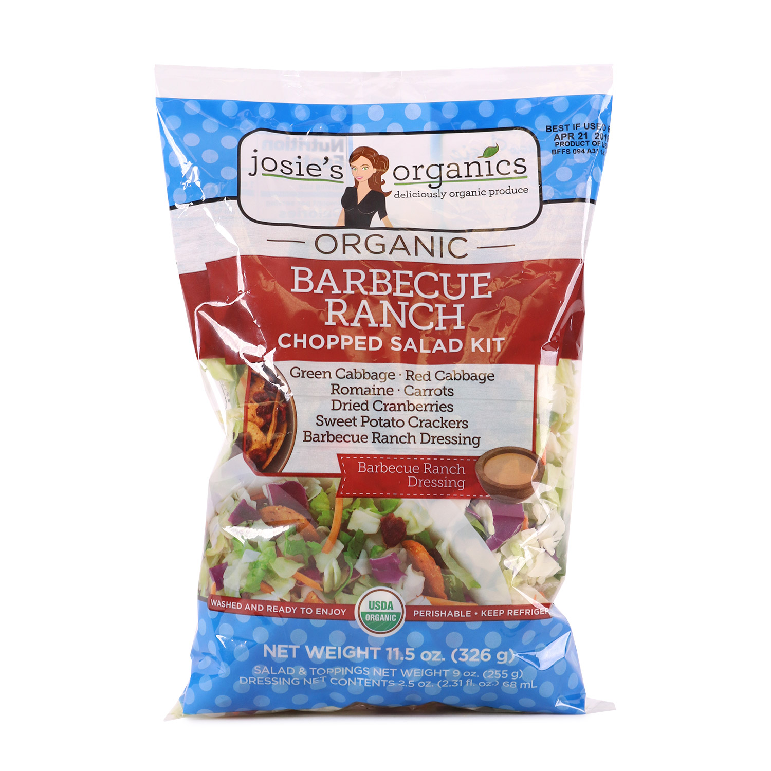 Chopped Salad Kit, BBQ Ranch-Organic