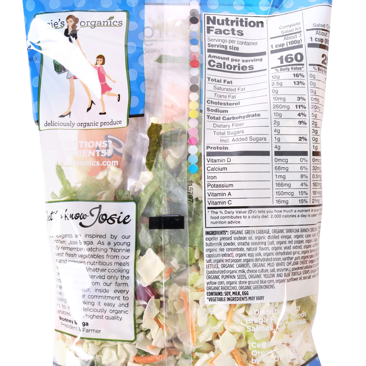 Chopped Salad Kit, Sriracha Ranch-Organic