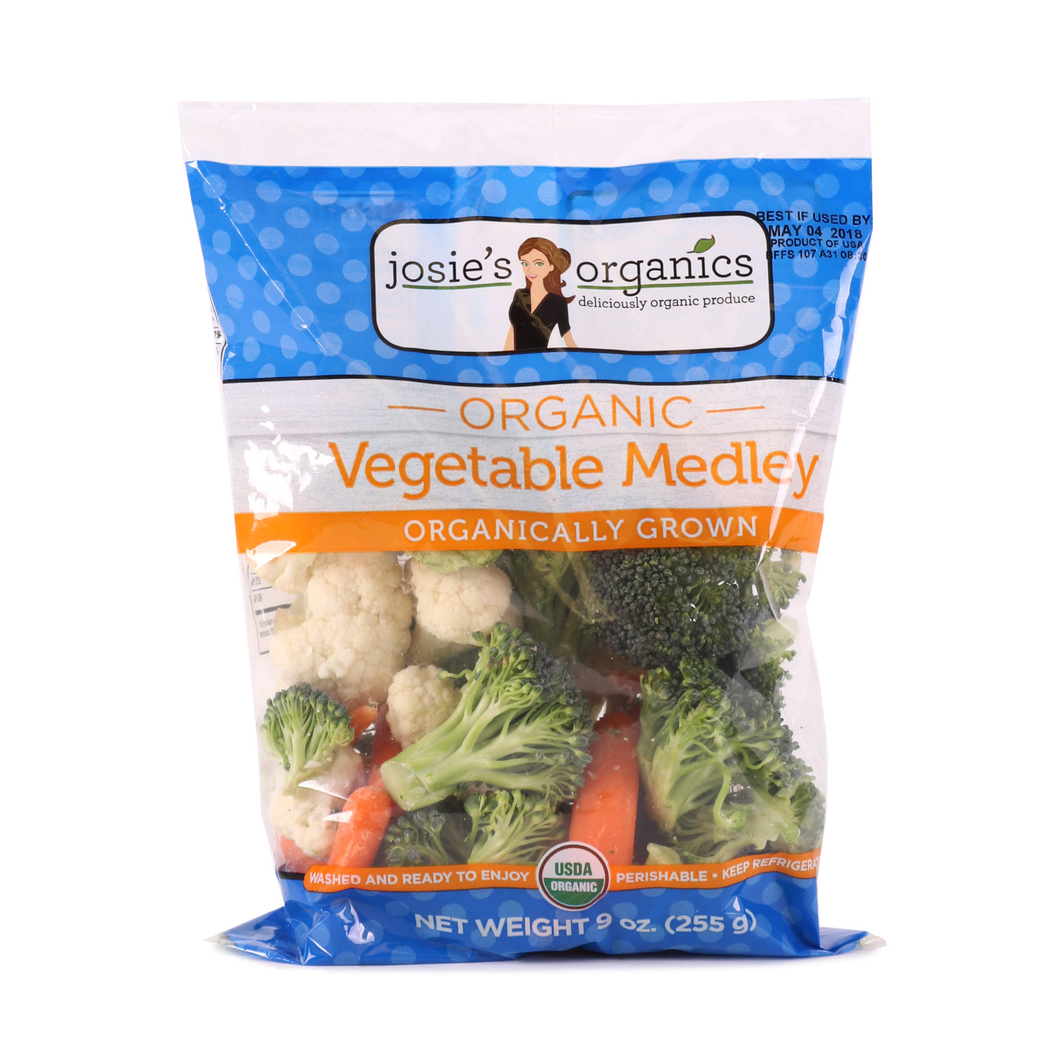 Cut Veggies, Vegetable Medley-Organic