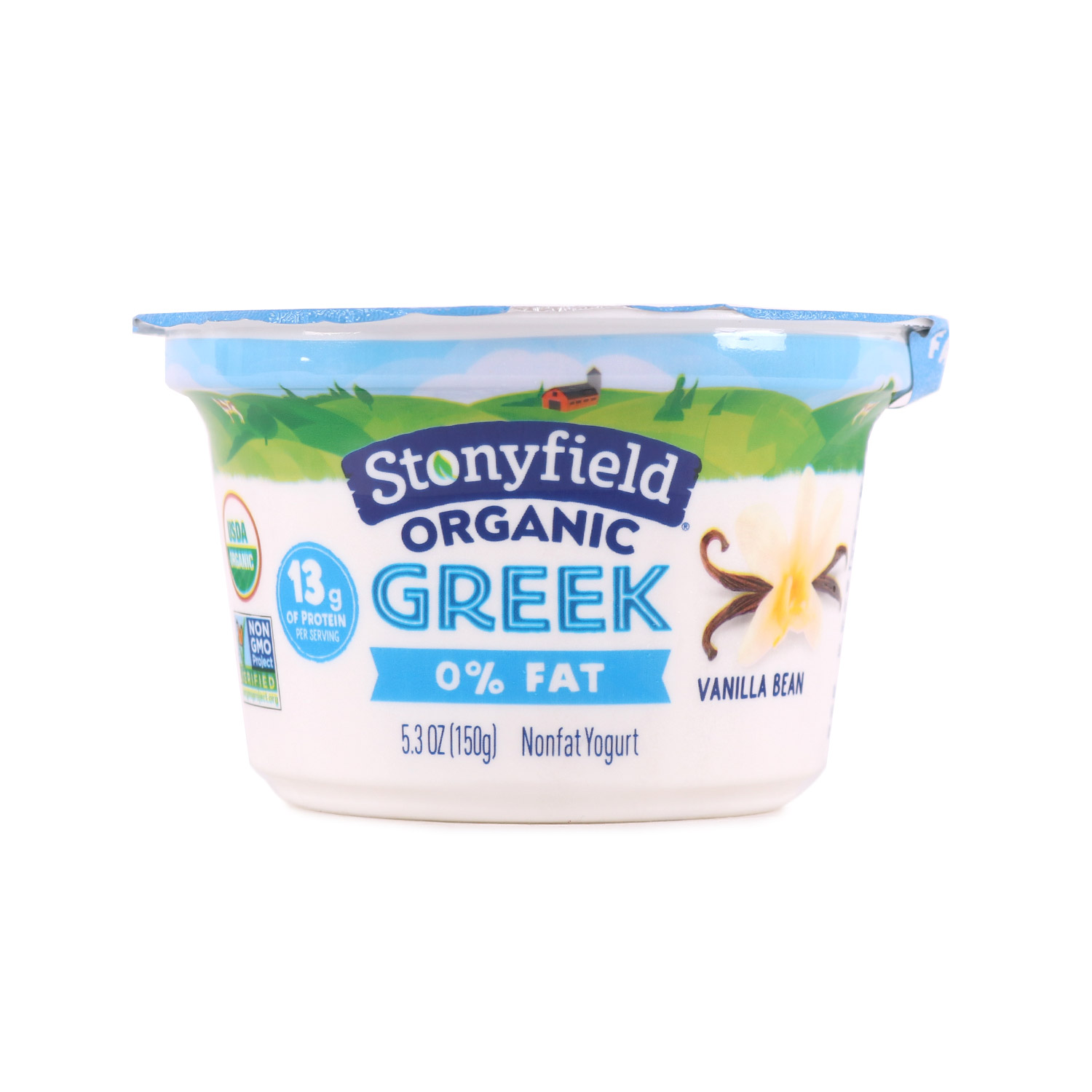 Greek Yogurt Cup, Vanilla-Organic