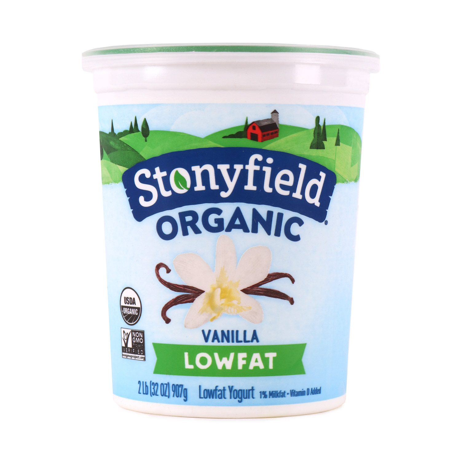 Yogurt, Low Fat Vanilla-Organic
