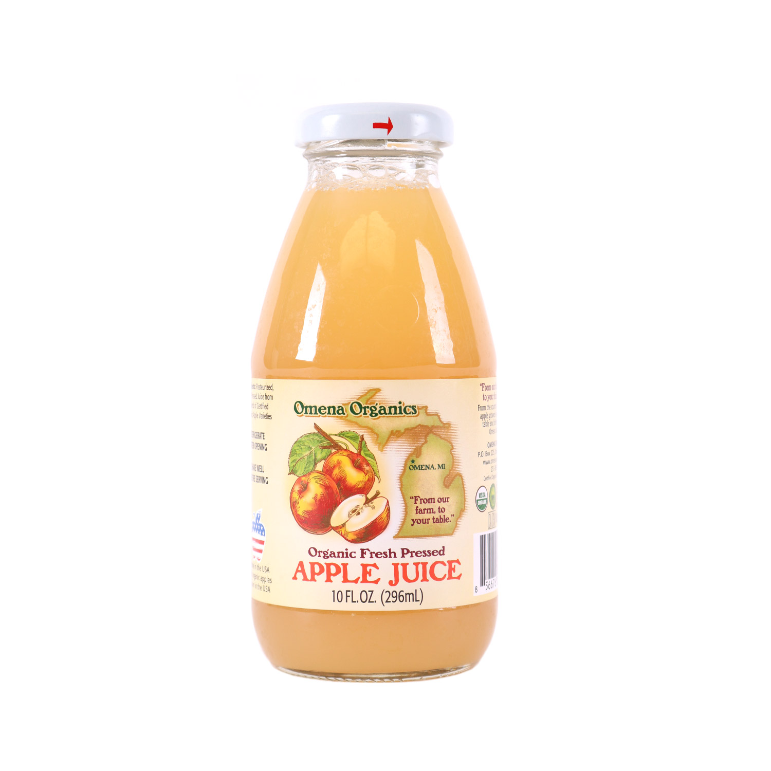 Single Serve Apple Juice-Organic