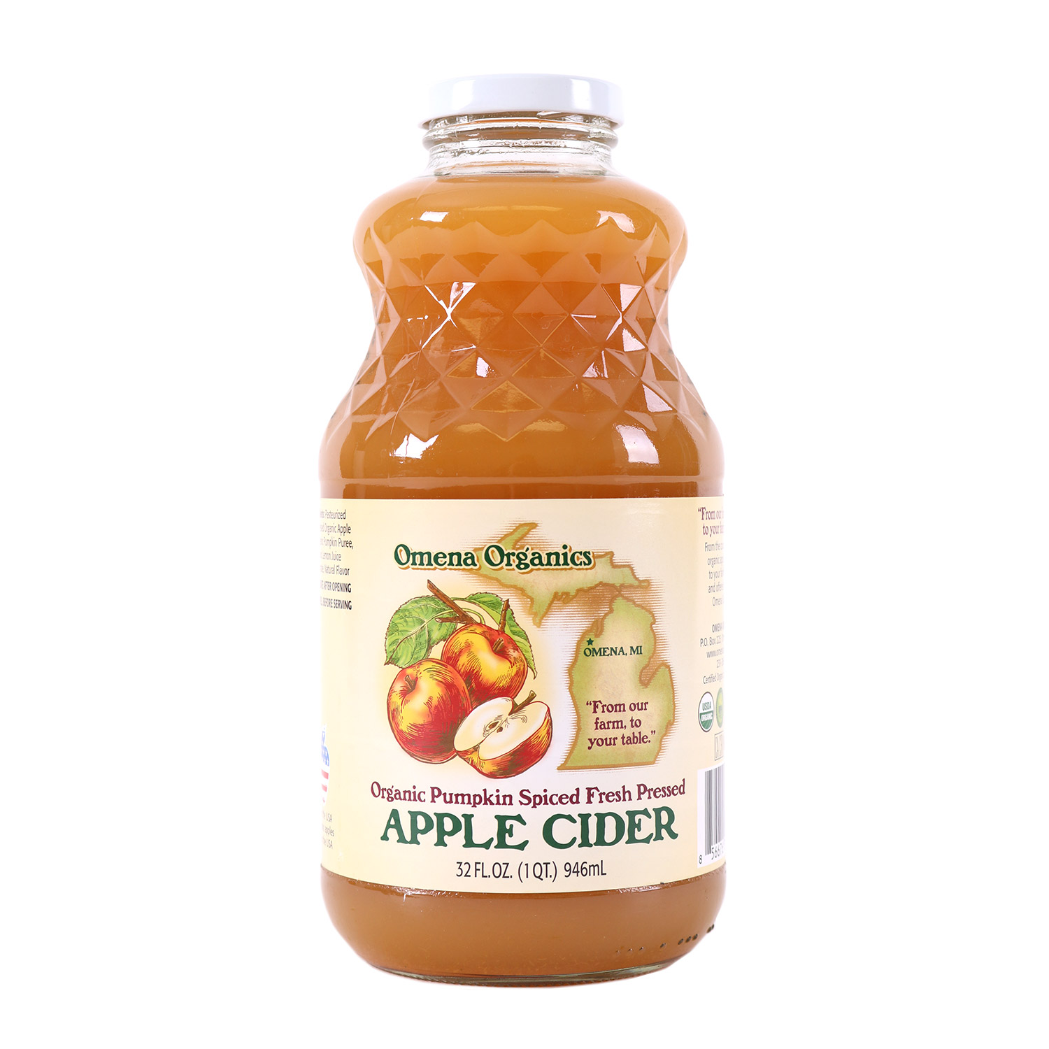 Pumpkin Spiced Apple Cider-Organic