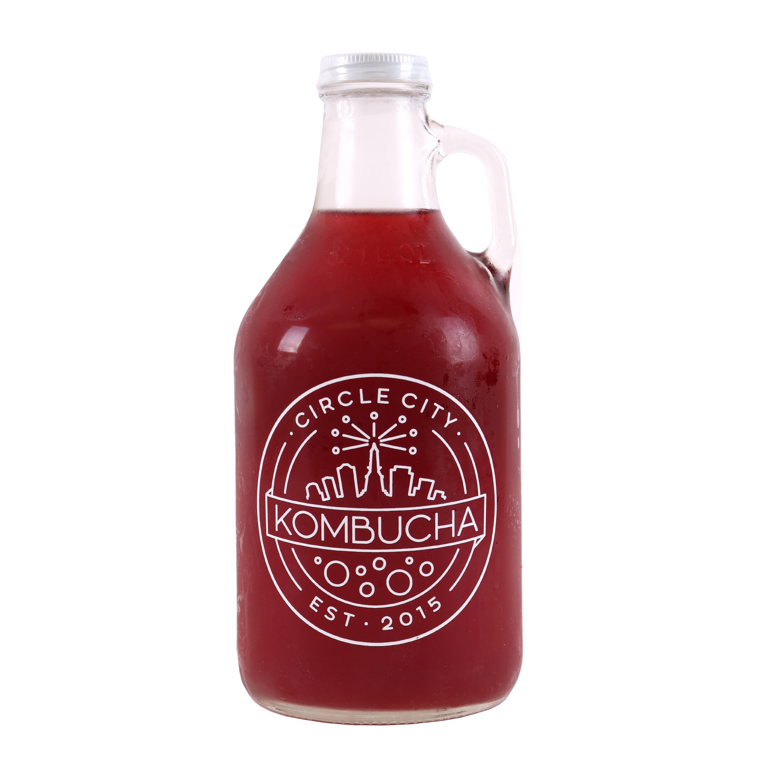 Growler - Kombucha, Pomegranate