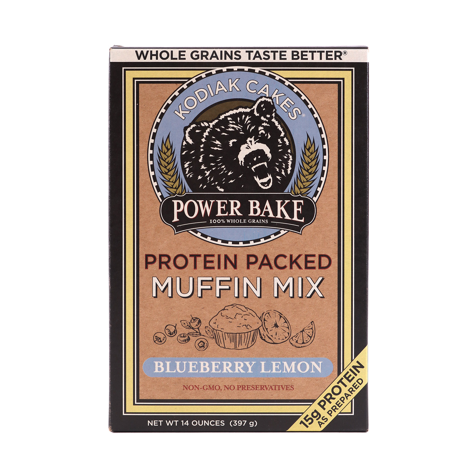 Muffin Mix, Blueberry Lemon Protein