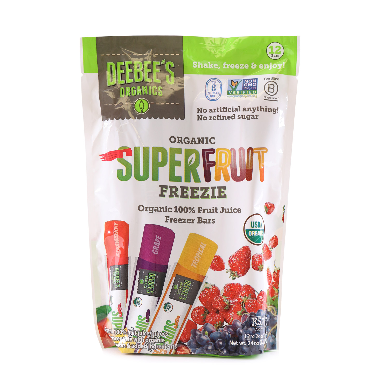 SuperFruit Freezie-Organic