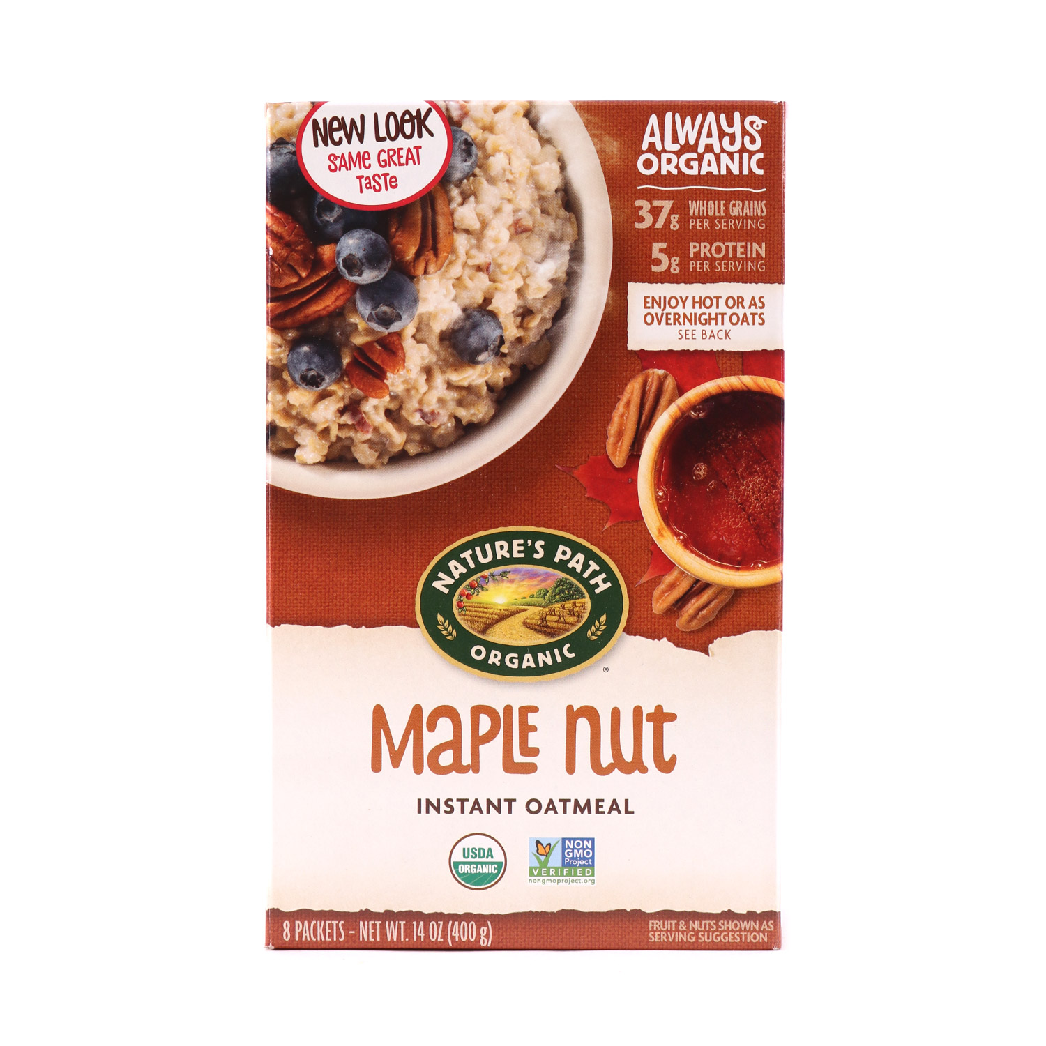 Oatmeal, Maple Nut-Organic