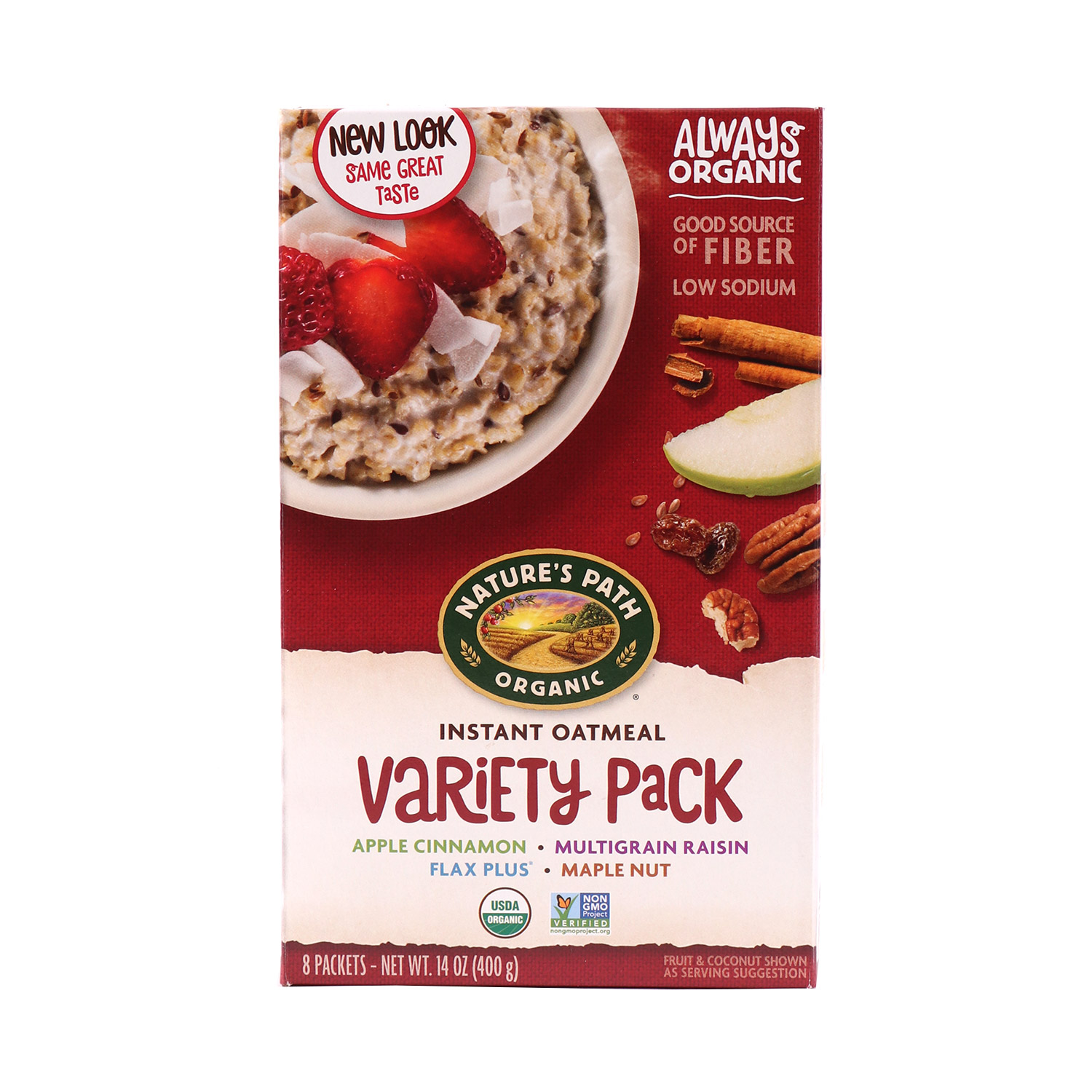 Oatmeal, Variety Pack-Organic