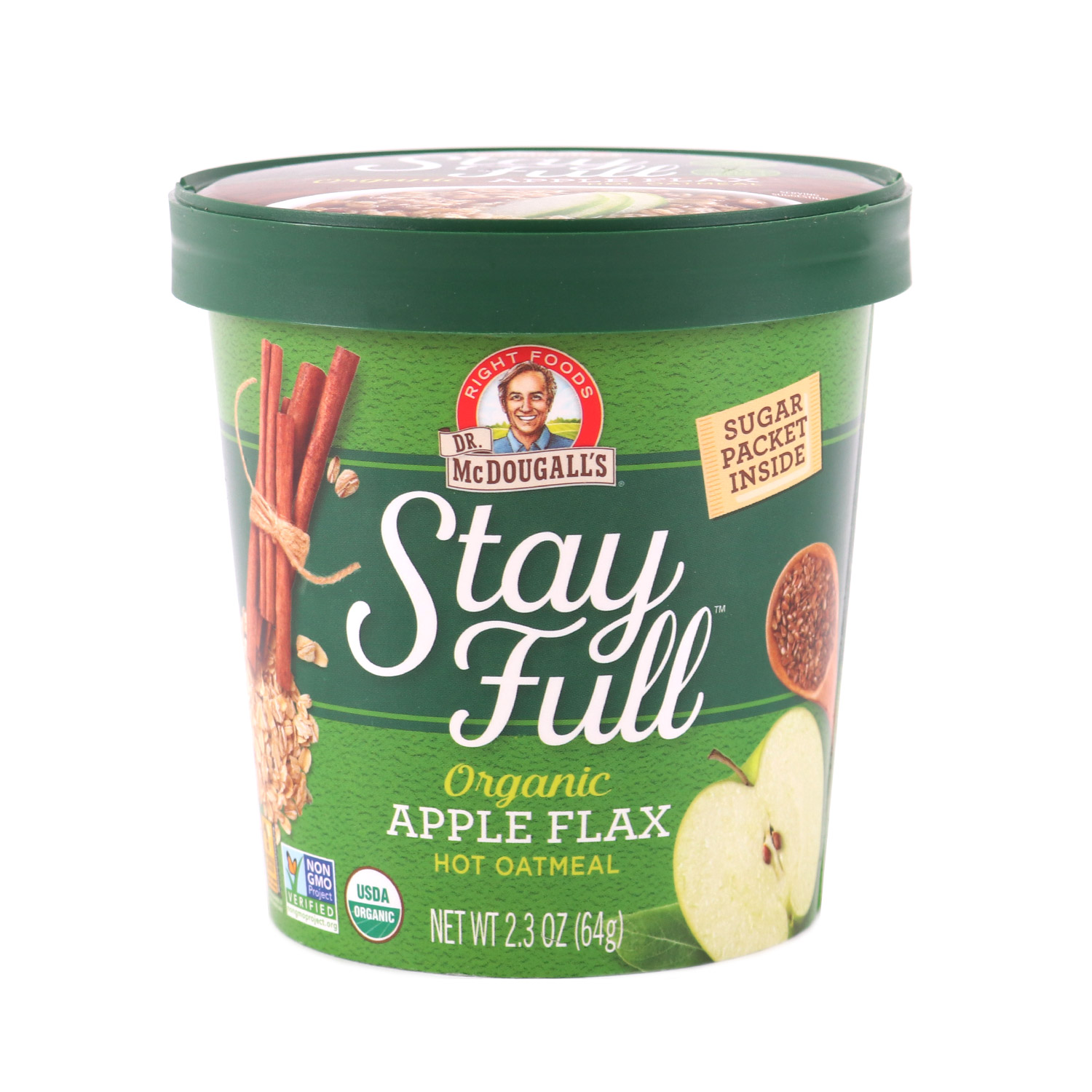 Oatmeal, Apple Flax