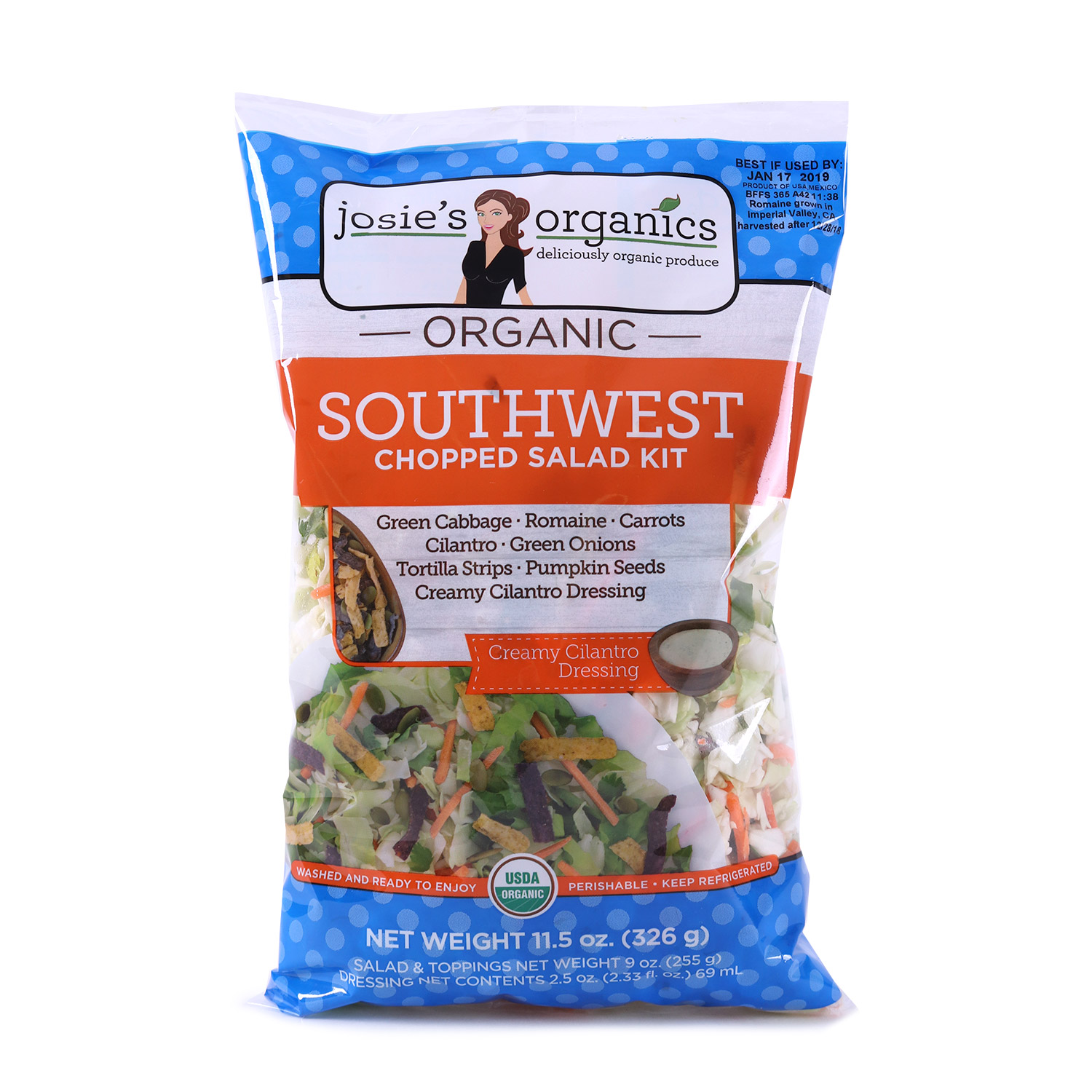 Chopped Salad Kit, Southwest-Organic
