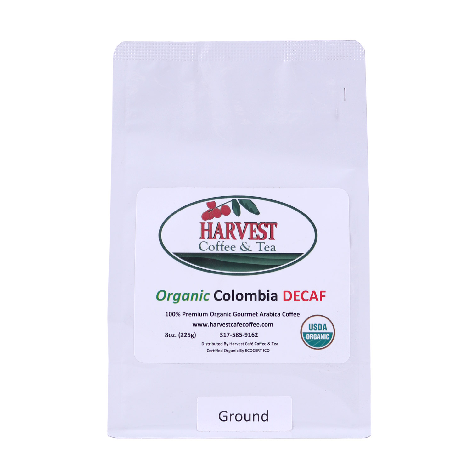 Decaf Coffee, Colombian Ground