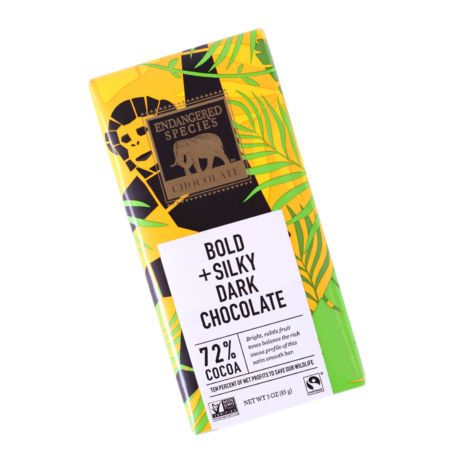 Dark Chocolate, Bold & Silk - 72% Cocoa