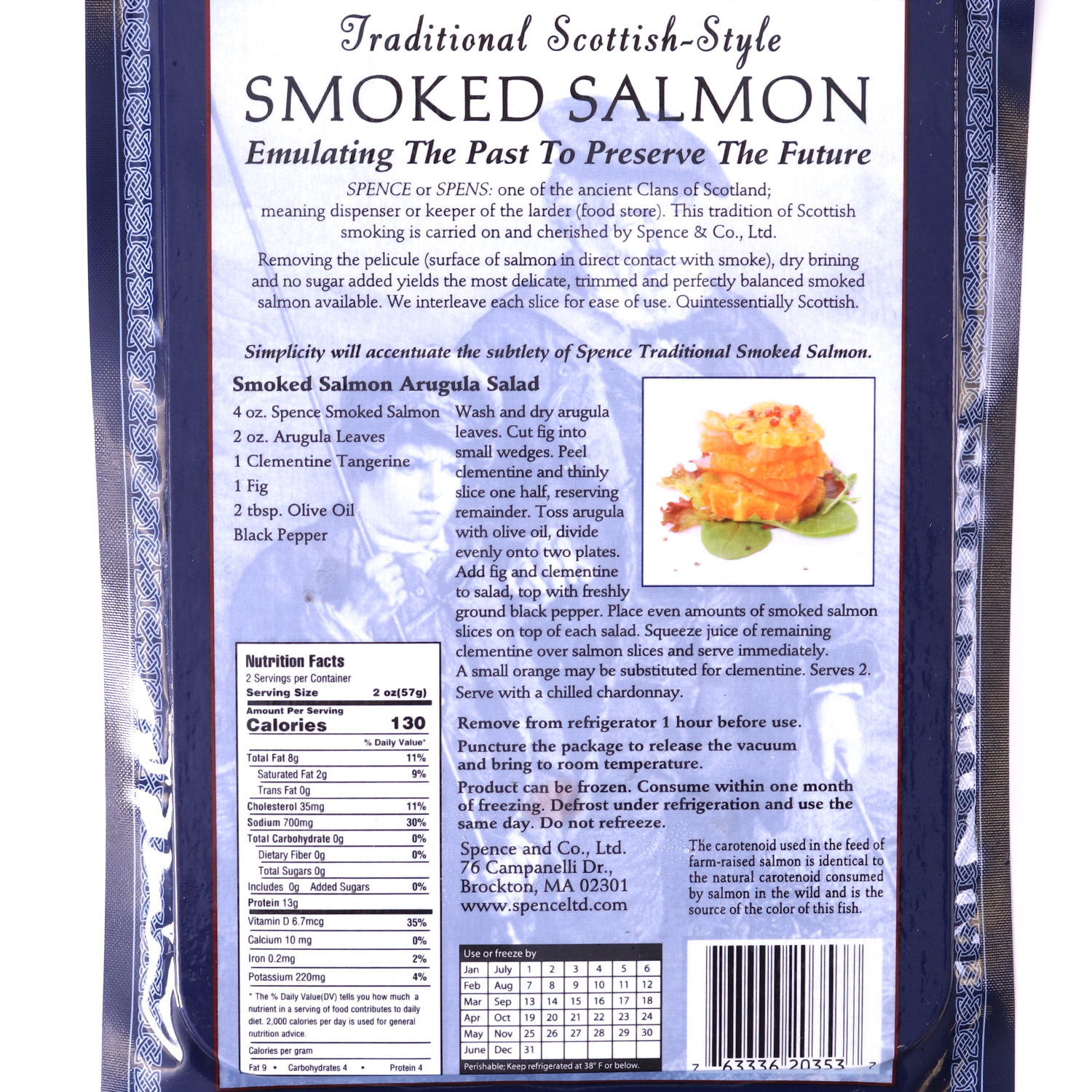 Traditional Smoked Salmon