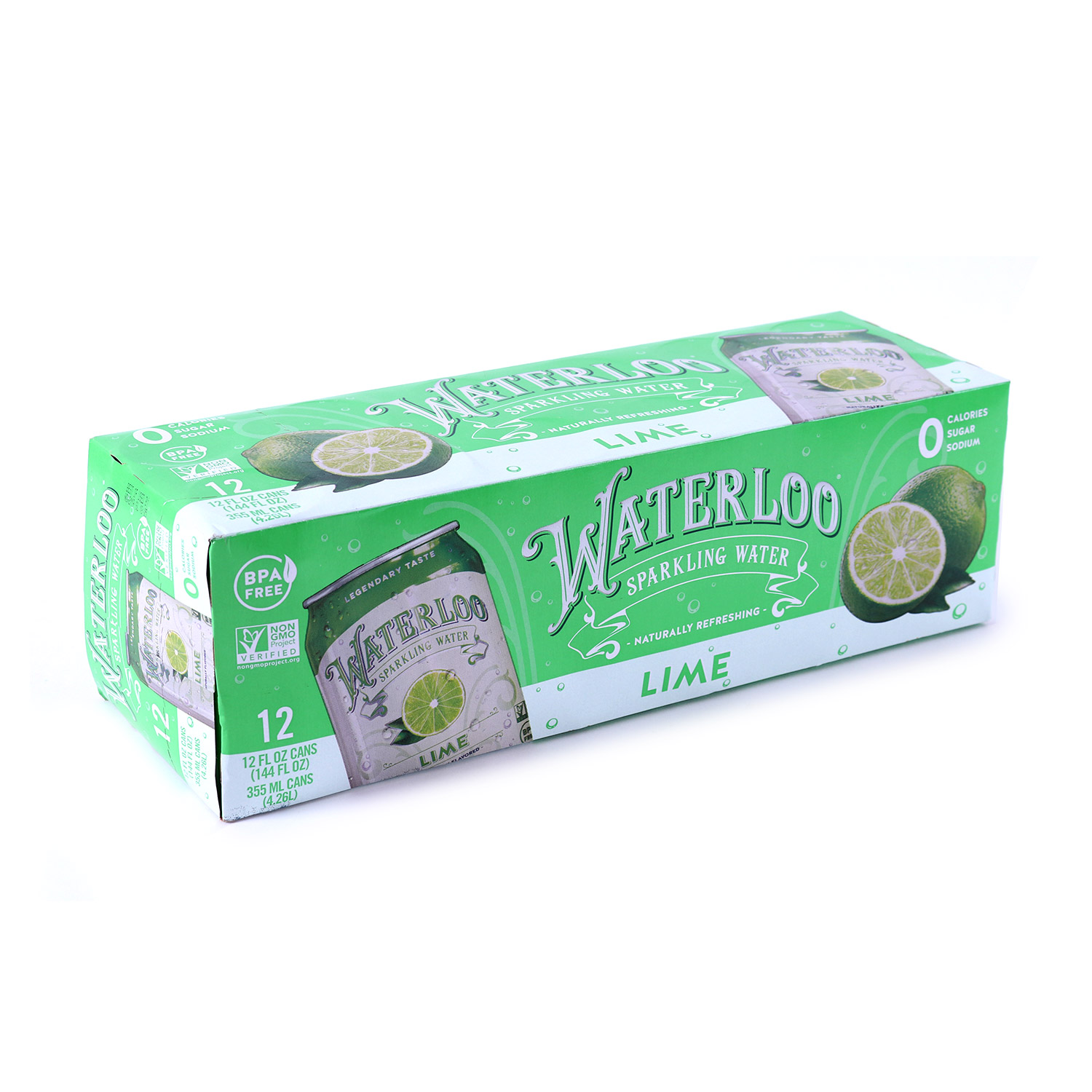 Sparkling Water, Lime-Case