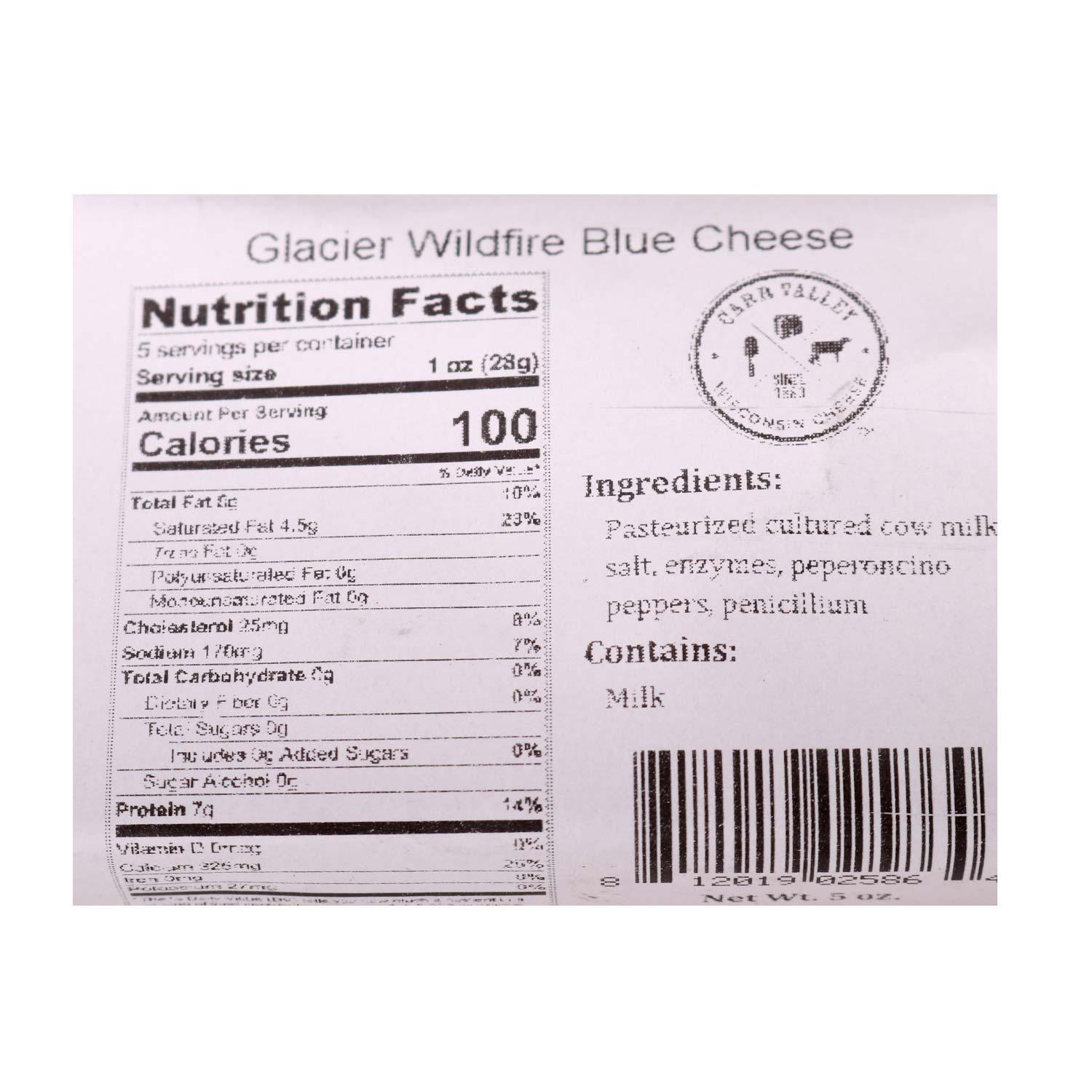 Cheese Wedge, Wildfire Blue Cheese