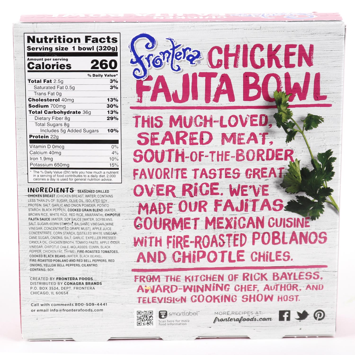 Bowl, Chicken Fajita