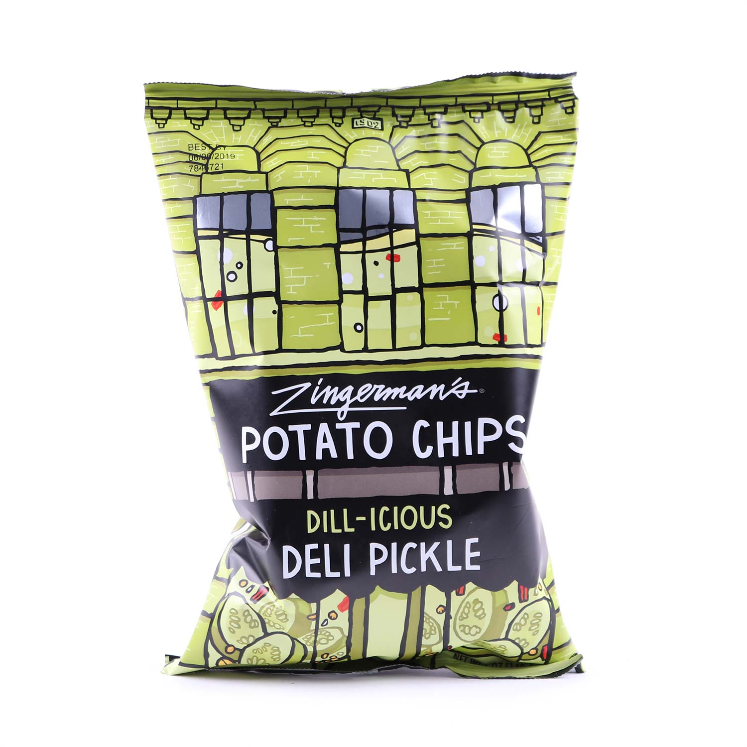 Potato Chips, Dill-icious Deli Pickle