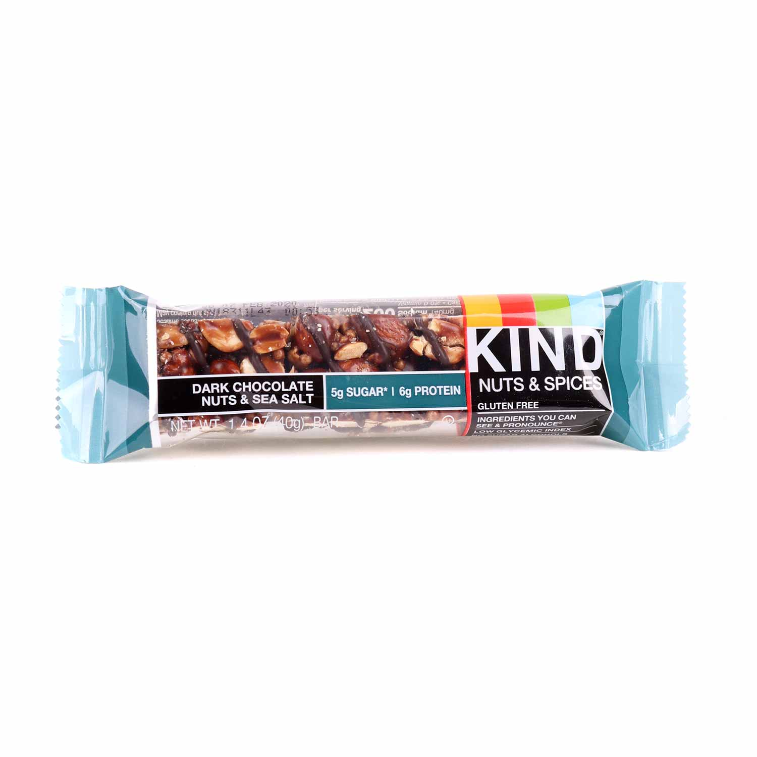 Bar, Dark Chocolate Nuts & Sea Salt