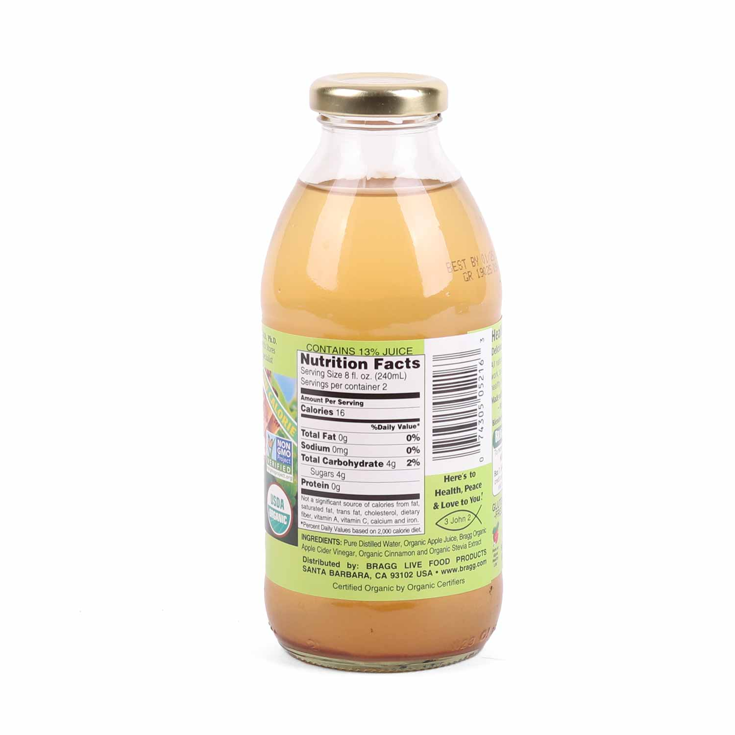 Apple Cider Vinegar Drink, Apple & Cinnamon-Organic