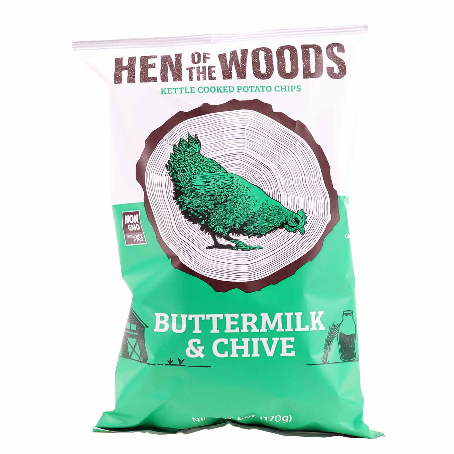 Kettle Chips, Buttermilk & Chive