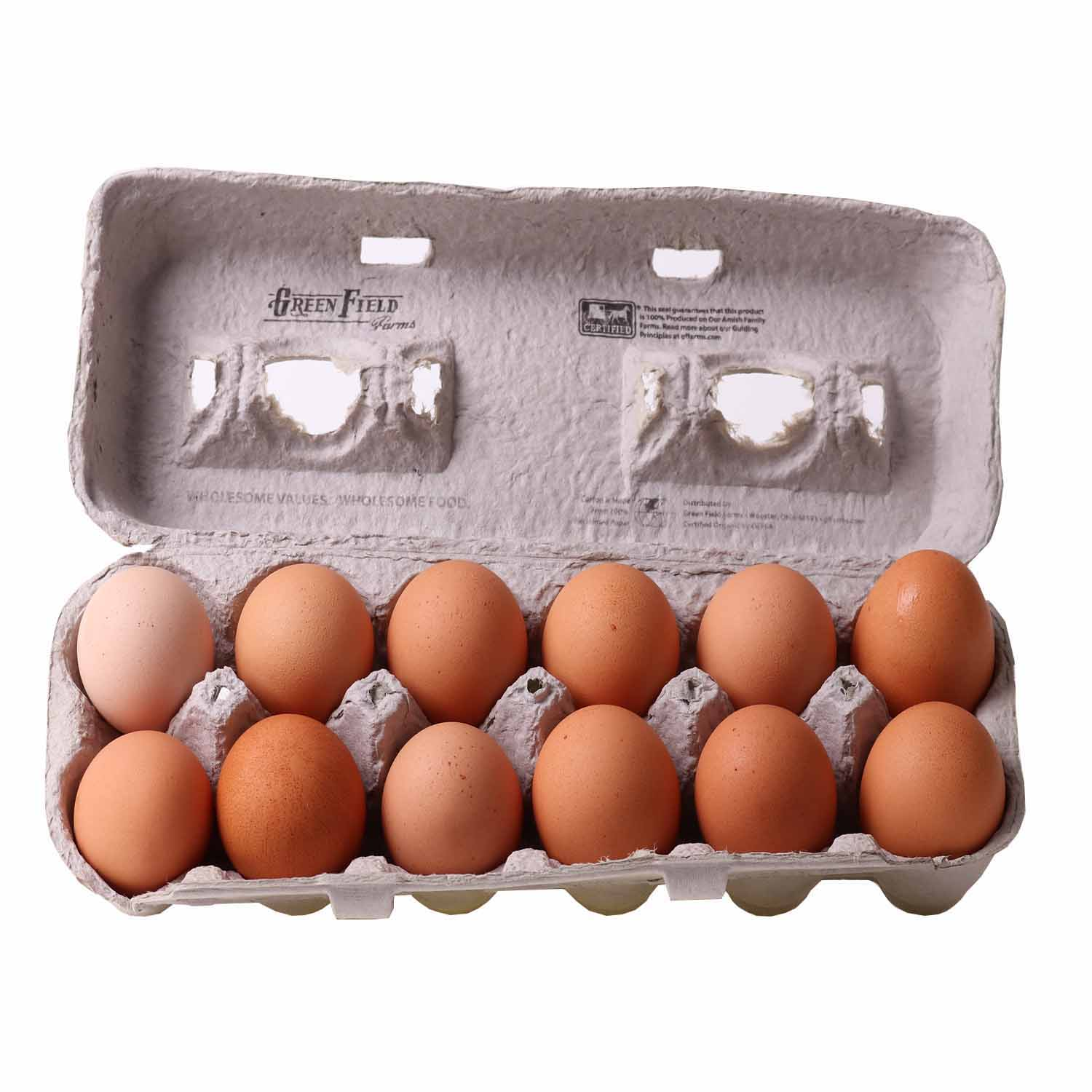 Eggs, Large Dozen-Organic