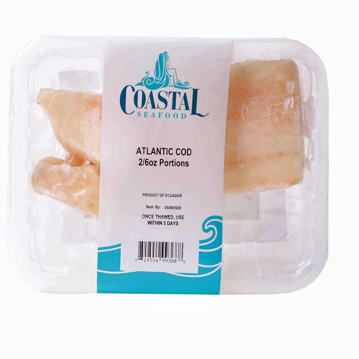 Atlantic Cod, Wild Caught