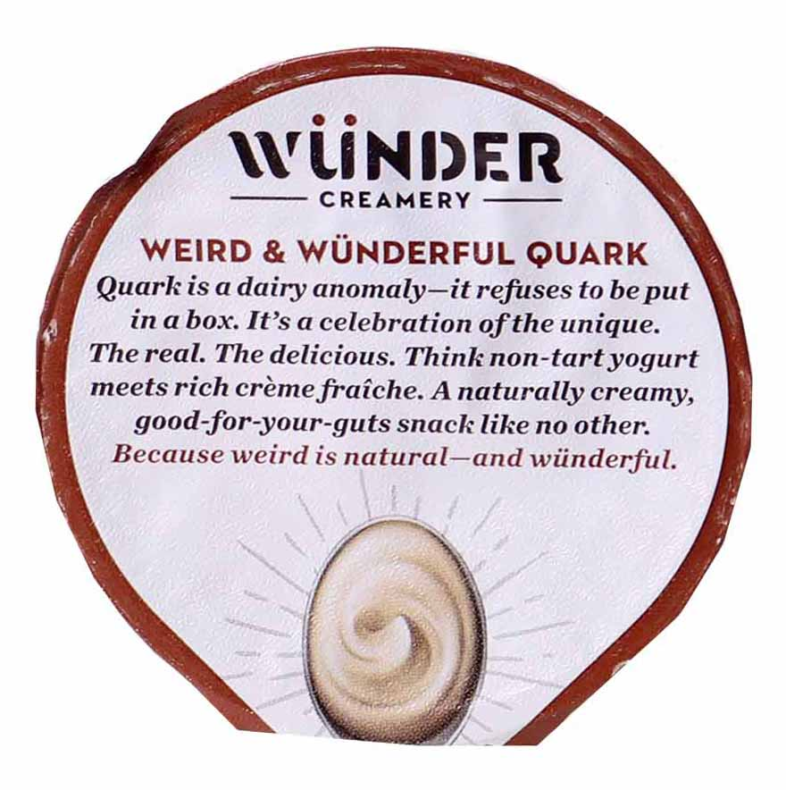 Grass Fed Quark Yogurt, Coffee