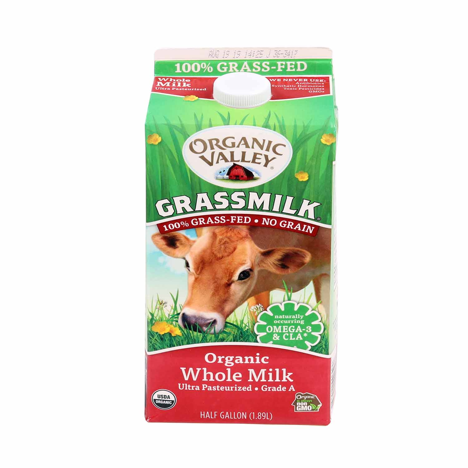 Milk, Grass Fed Whole-Organic