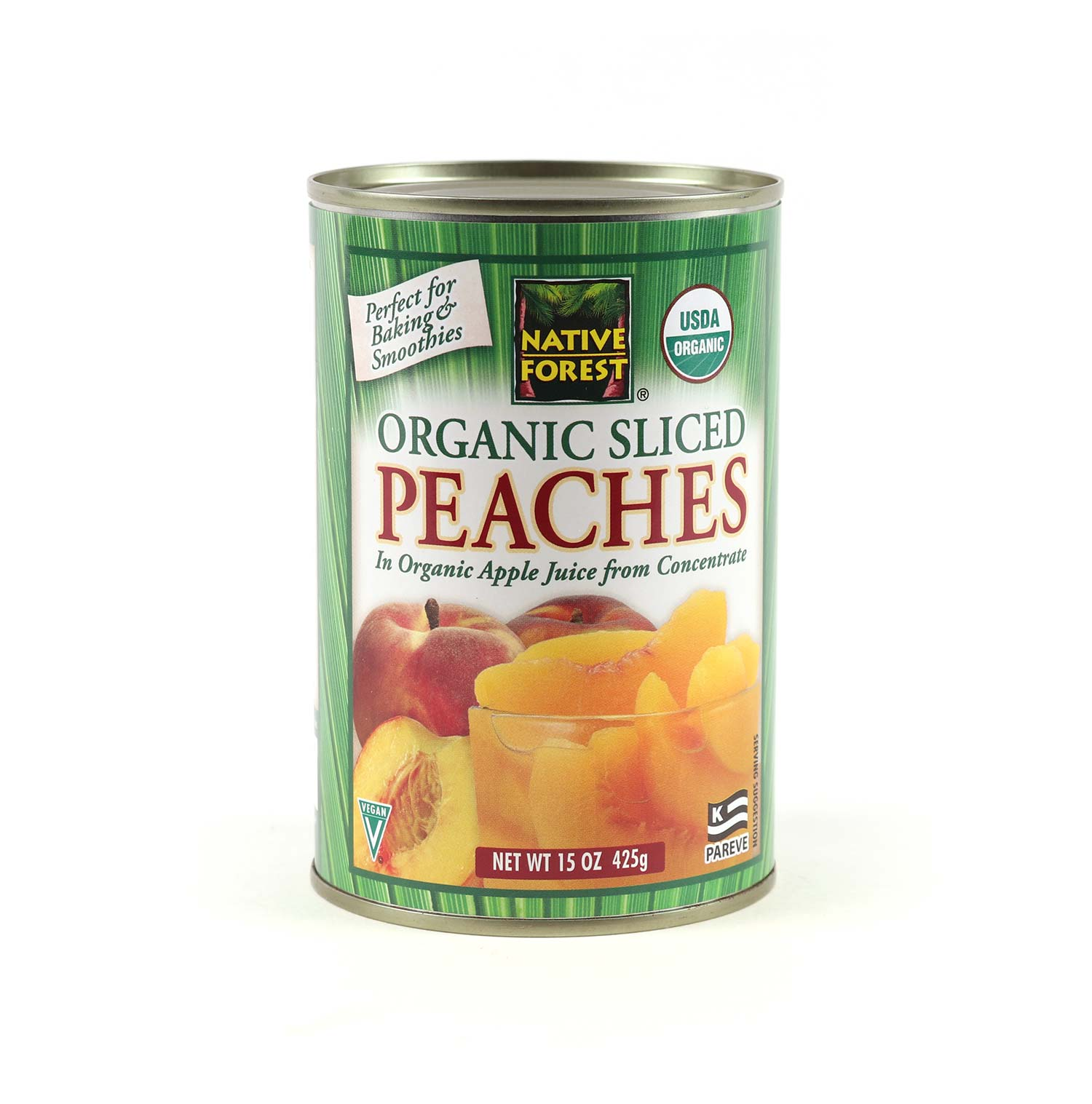 Canned Peaches, Sliced-Organic