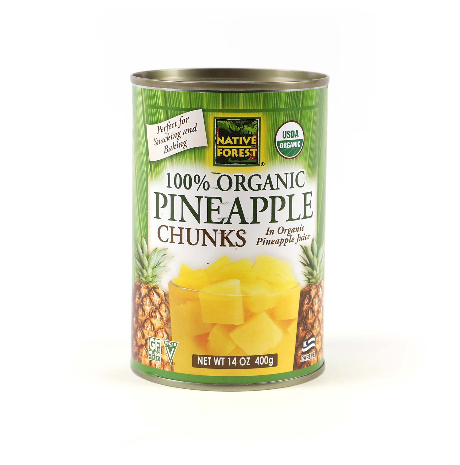 Canned Pineapple, Chunks-Organic