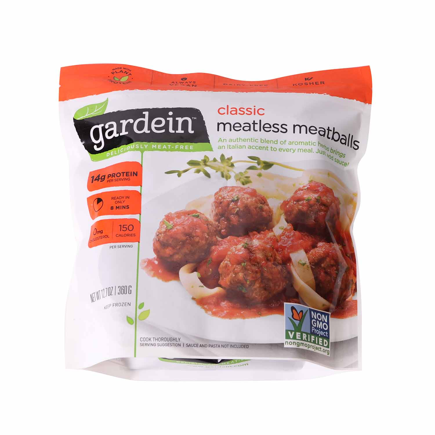 Meatless Meatballs, Classic