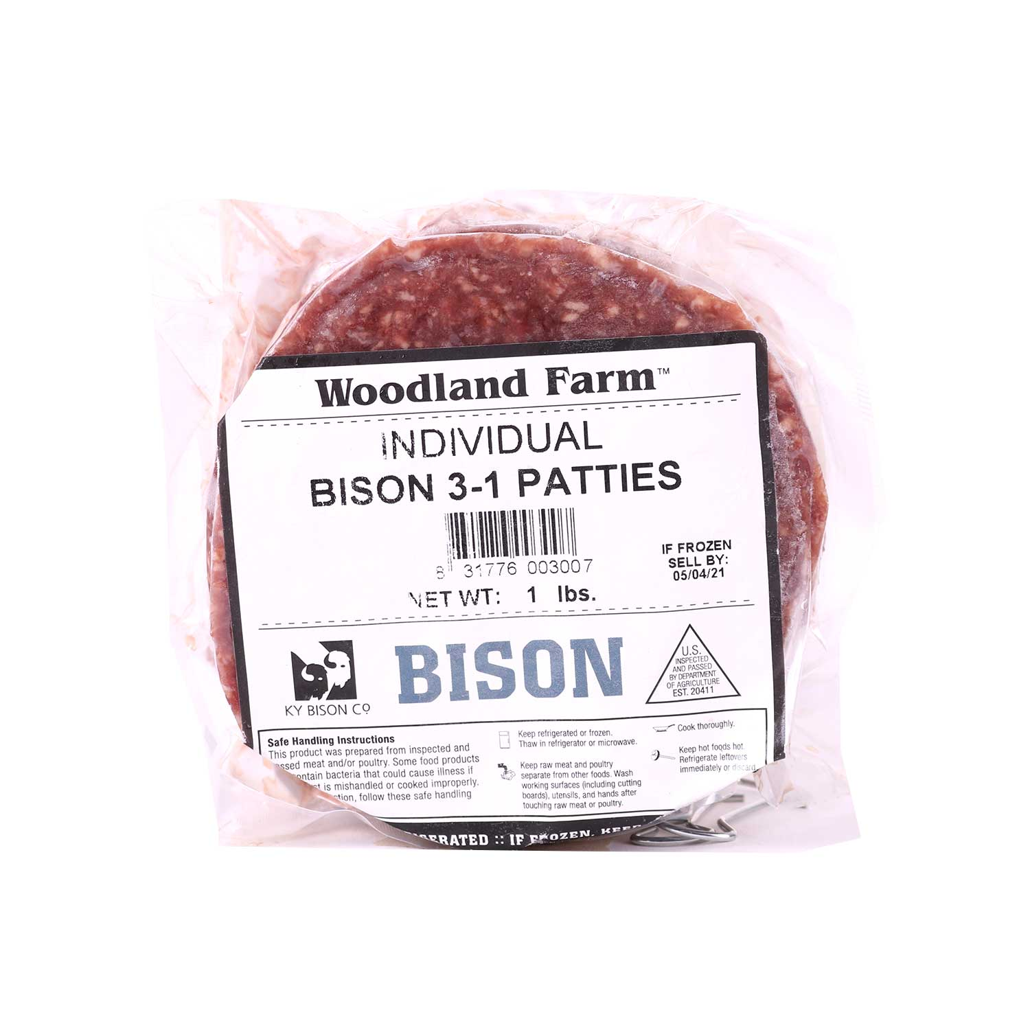 Bison, Patties