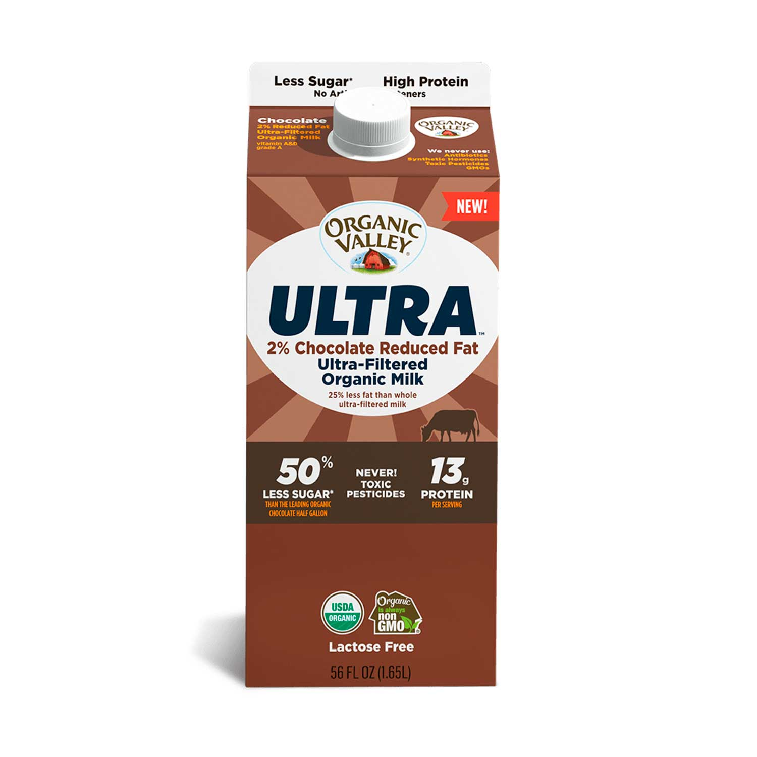 Milk, Ultra Filtered, Chocolate-Organic